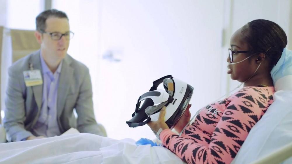 Realidade virtual substitui medicamentos para a dor